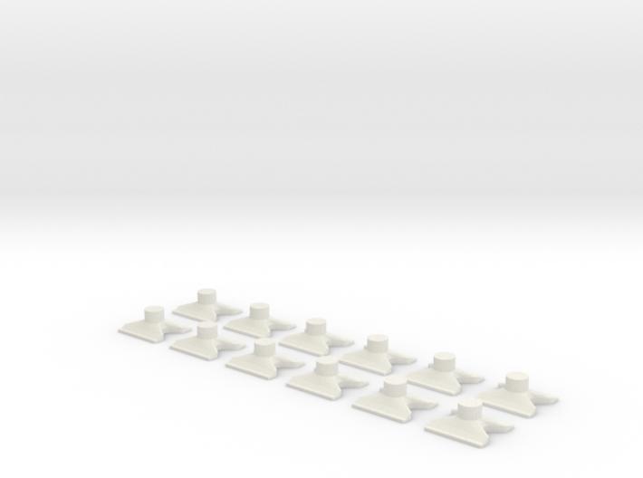 [12st] Vlinderblok v2b 1:87 (H0) 3d printed