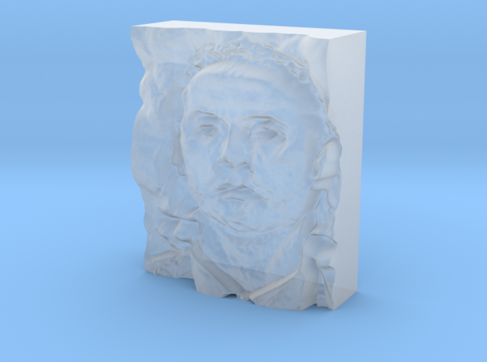 Mutassim Gaddafi : The Warrior 3d printed