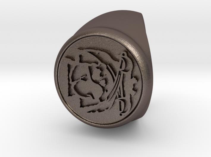 Custom Signet Ring 23 3d printed