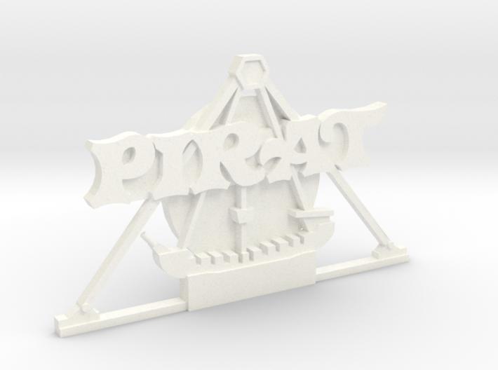 Magnetaufsatz Pirat 3d printed