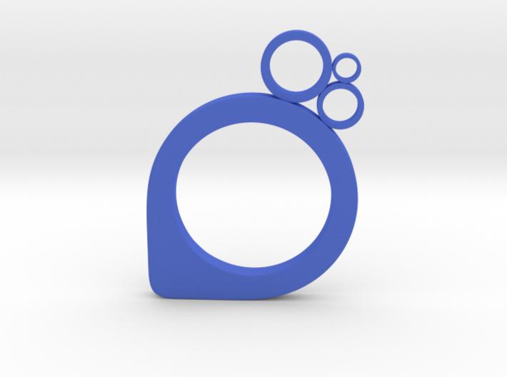 Subcircle ring 3d printed