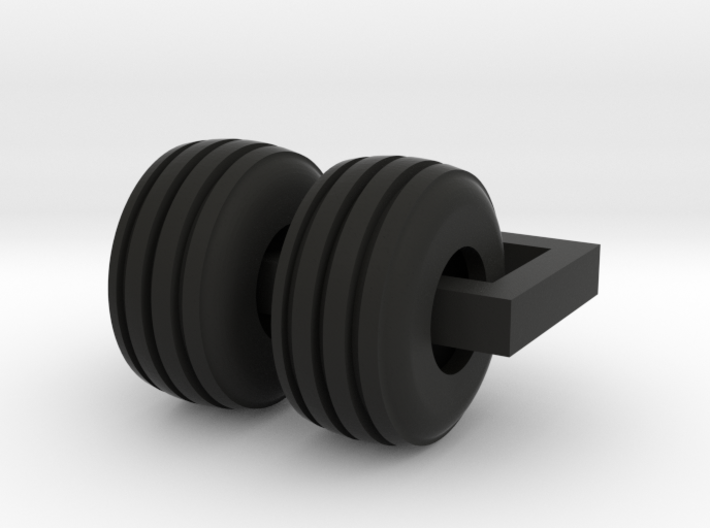 19L Steer Tire for 6030 3d printed