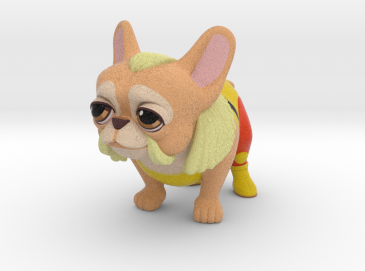 Frenchie Hogan  3d printed
