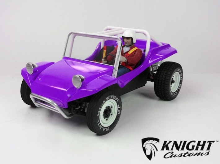 """SR40003 Beach Buggy Full Race Cage 3d printed PLEASE NOTE: This is only for the Full Race Cage parts. To buy a complete bodyset with this configuration please click """"Add Set to Cart"""" button below."""