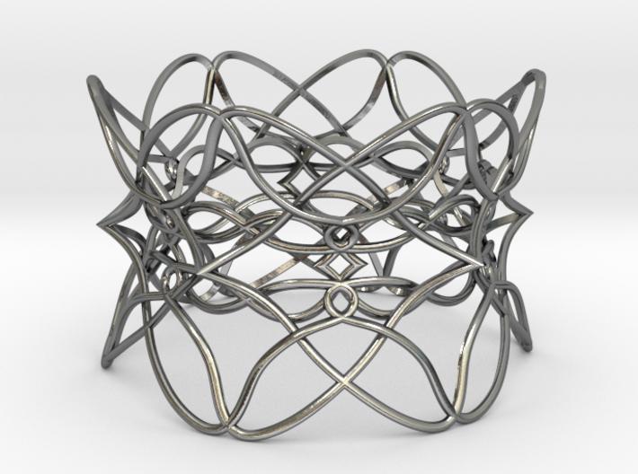 Bracelet the pattern 3d printed