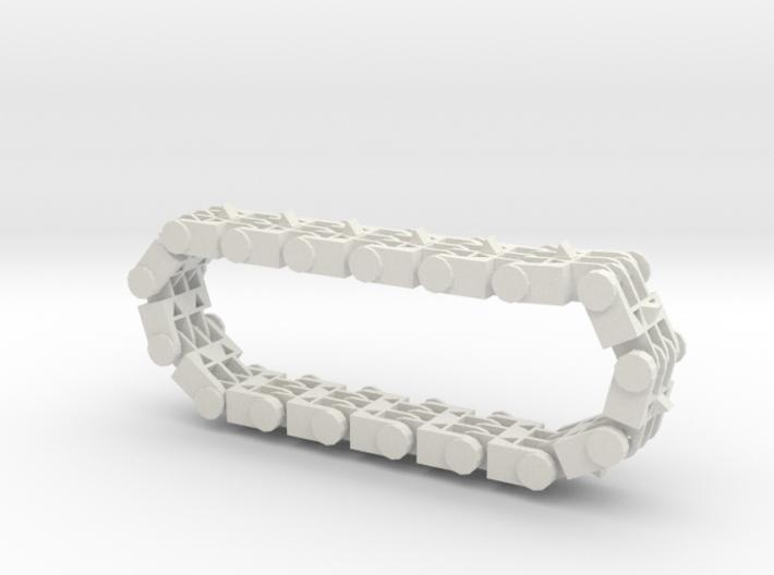 Track Bracelet 3d printed