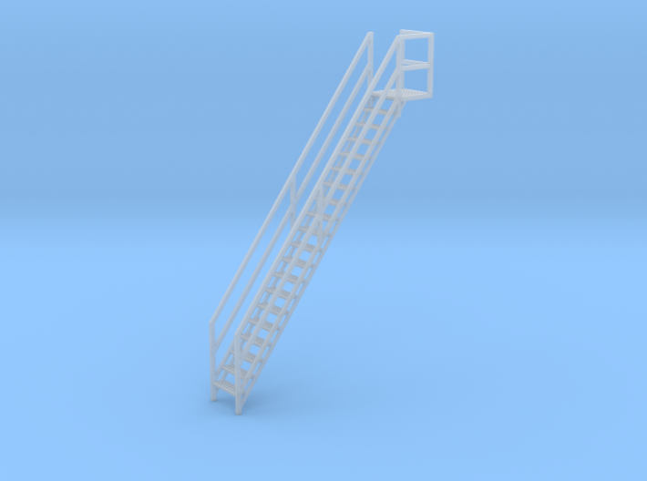 """1/64th """"S"""" Scale Grain Leg/Tower Stair Section 3d printed"""