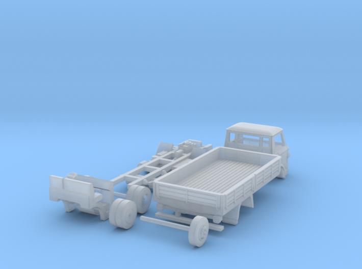 Ford D800 1:148 UK N scale 3d printed