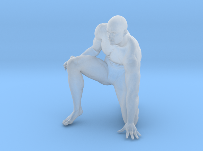 Strong Man scale 1/24 2016014 3d printed