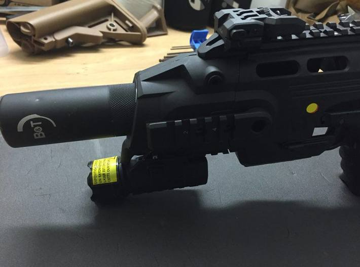 RoniKit TracerMount 3d printed