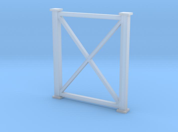 'N Scale' - 8' Wx10' H Bent 3d printed