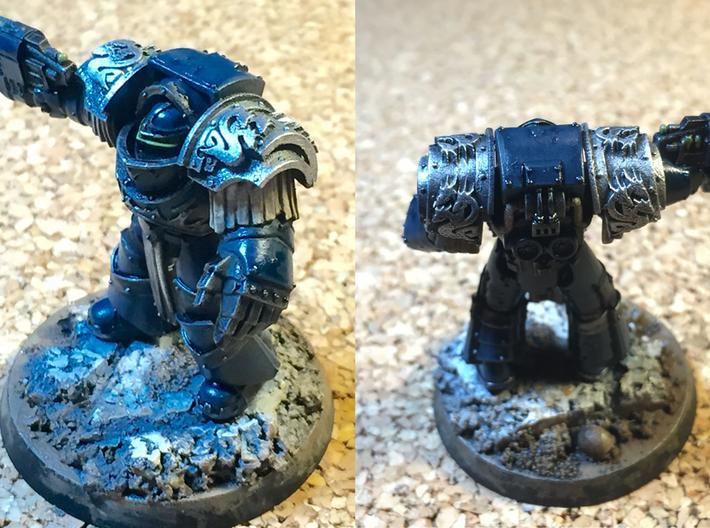 5x Death Legion-2= Cataphractii Shoulder Sets 3d printed