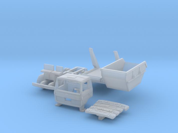 Vierer-Club-LKW Absetzkipper (N 1:160) 3d printed