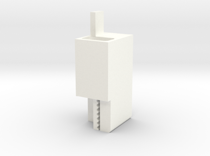 Carriage Plate-Belt Connector V1 3d printed