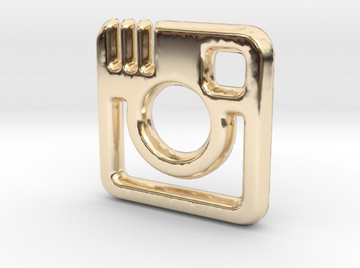 Insta Charm - 11mm 3d printed