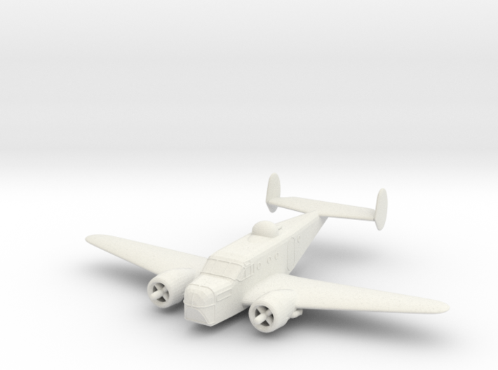 1/144 Beechcraft AT-11 (SNB-1) 'Kansan' 3d printed