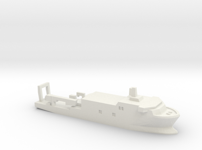 USSP Auxiliary Ship, 1/3000 3d printed