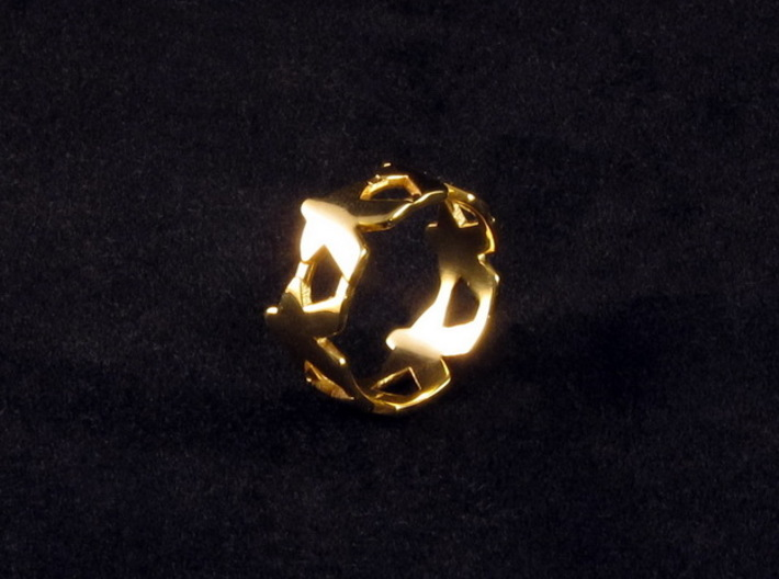 Meeple ring, several sizes 3d printed