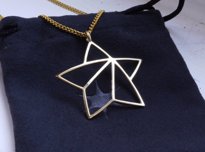 Achievement Star Pendant 3d printed