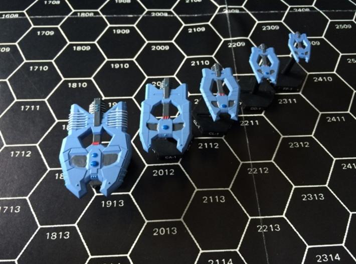 2400 Hell Guard Fleet 3d printed