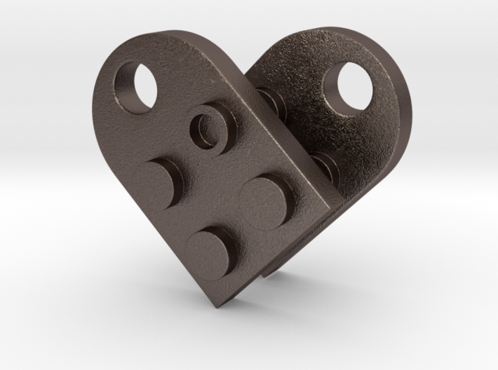 Heart of LEGO 3d printed