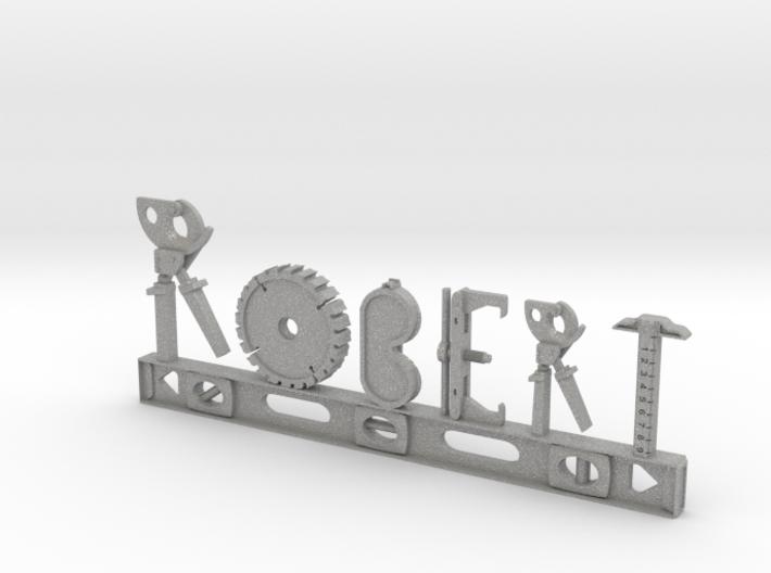 Robert Nametag 3d printed
