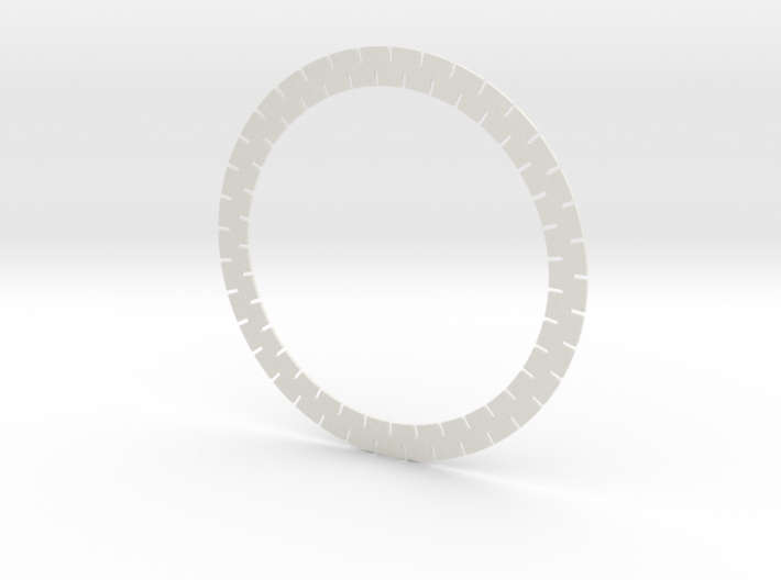 200mm coil former for metal detector 3d printed