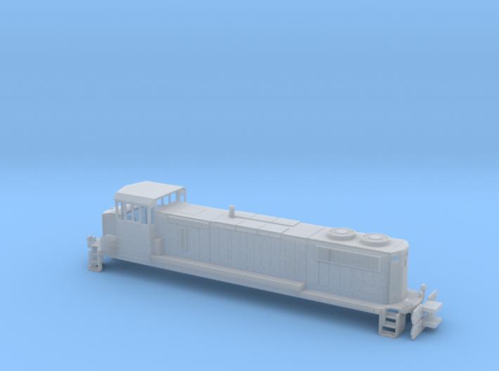 MK1500D N (1:160) 3d printed