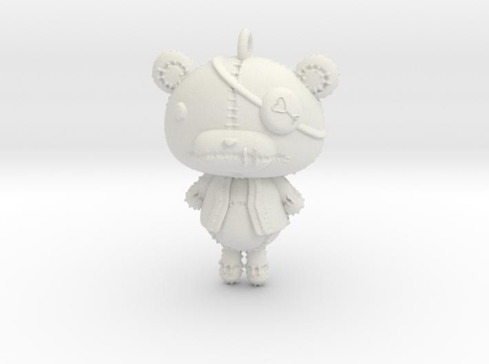 Keychain_Teddy 3d printed