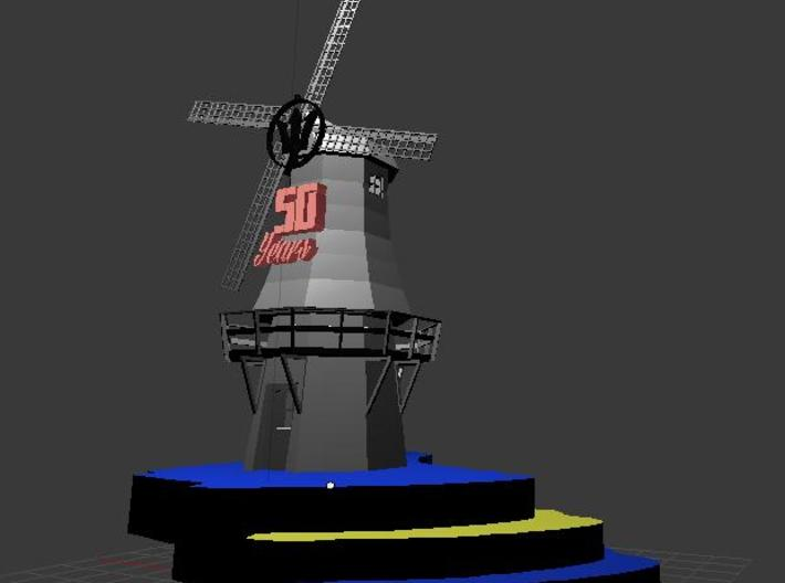 BARBADOS 50 YEARS Monument 3d printed