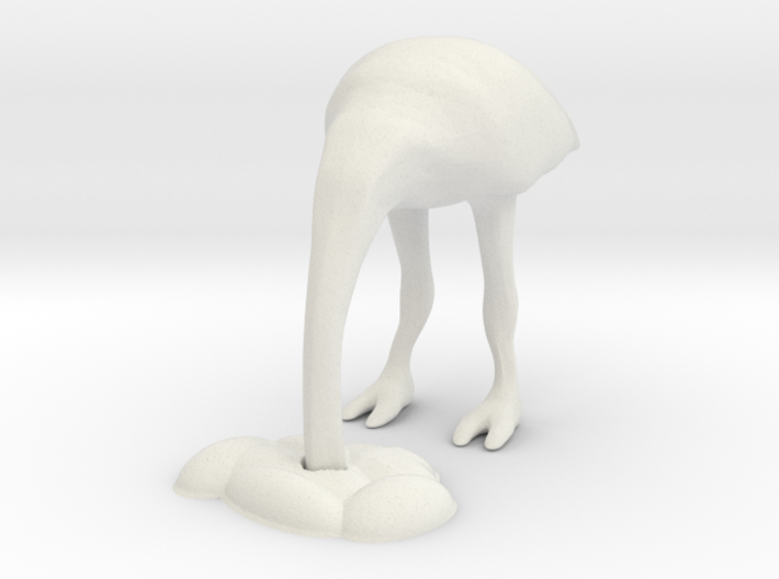 Ostrich 2 - HO scale 3d printed