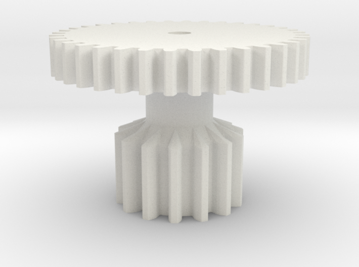 Gear 2 Strengthened for cheap Nylon 3d printed