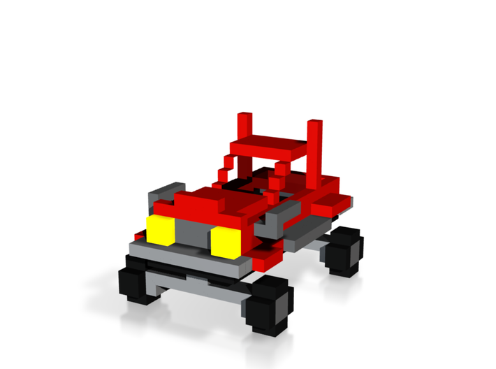 Voxel Car 3 3d printed
