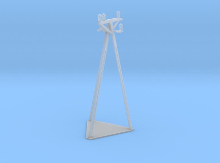 European Electric Poles 3d printed