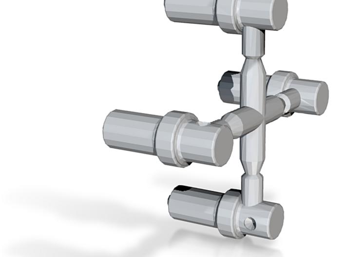 N Scale PRR Steam Whistle 4PK 3d printed PRR Steam Whistle 4PK