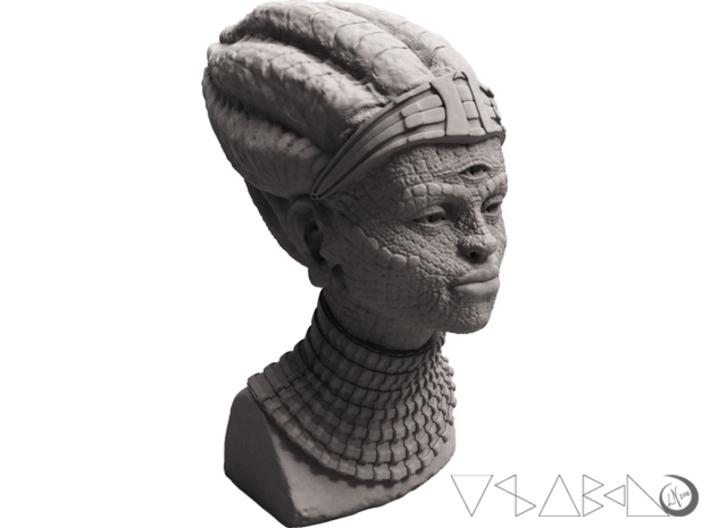 Ancient Alien Astronaut bust 3d printed