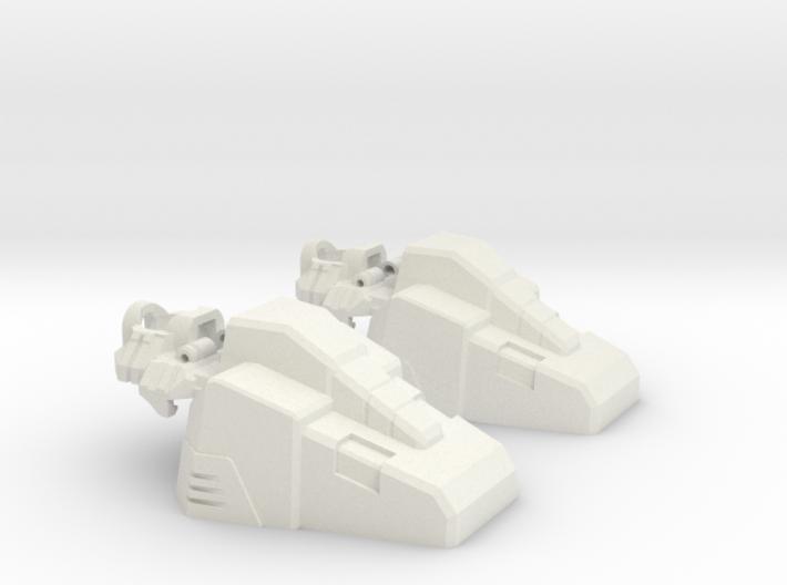 Aerial Team Combiner Slippers 3d printed