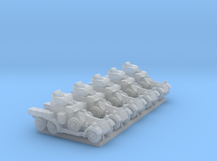 Lanchester MkII (6mm, 5-up) 3d printed