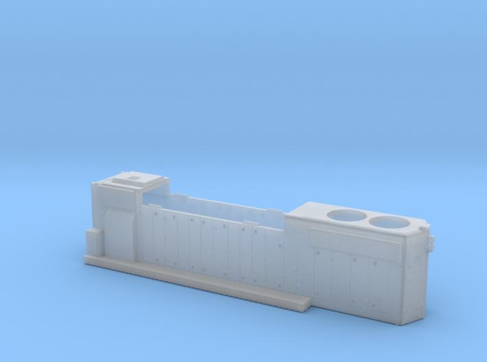 CP3021-3040 GP38-2 Hood (Plated Class Lts) 1/87.1 3d printed