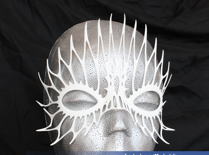 Party Mask 'FireFlight' 3d printed FireFlight