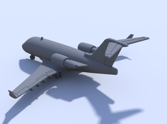 1:400 - Bombardier Challenger 604 [x2][A] 3d printed