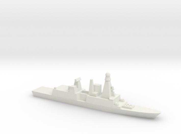 Forbin-Class Frigate, 1/1800 3d printed