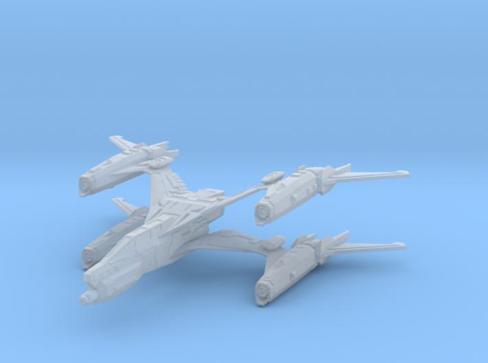 Thunderbolt MKII Starfury 3d printed