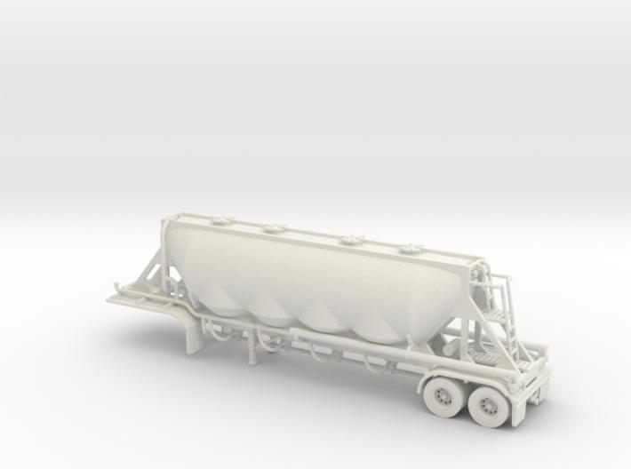 HO 1/87 Dry Bulk Trailer 18, J&L/Heil 1636 3d printed