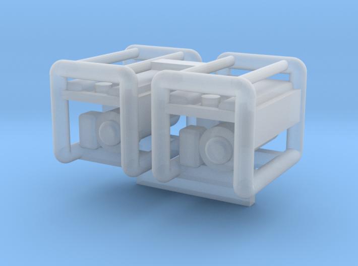 Generator 2PK 1-87 HO Scale 3d printed