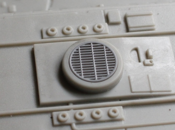 """Set of Grilles for 29"""" Hasbro Falcon 3d printed"""