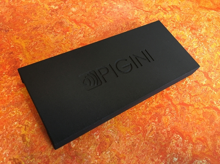 Pigini Sirus Base Registers Protector 3d printed Finished product with suggested Pigini logo