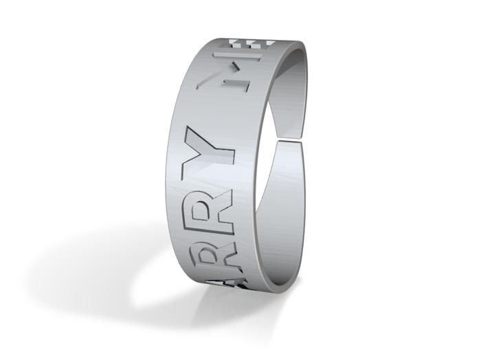 Proposal Ring (engagement ring) 3d printed