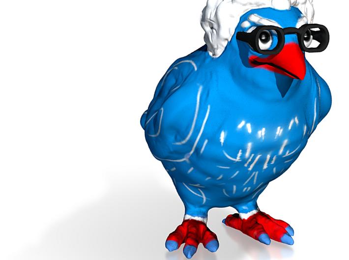 Birdie Sanders 3d printed