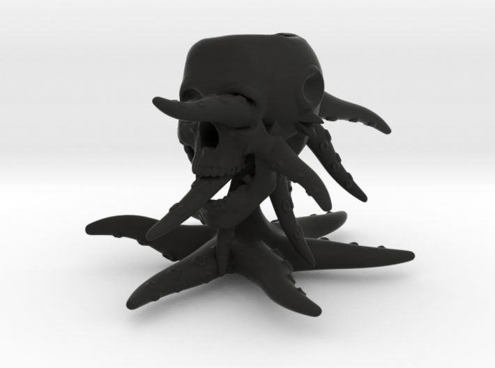 Octo-goblet 3d printed